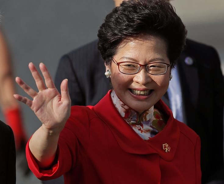Carrie Lam, Toma Posesión, Primera, Mujer, Gobierno, Hong Kong, China