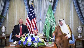 Secretario de Estado, estados unidos, Rex Tillerson, ministro saudí, Arabia Saudita