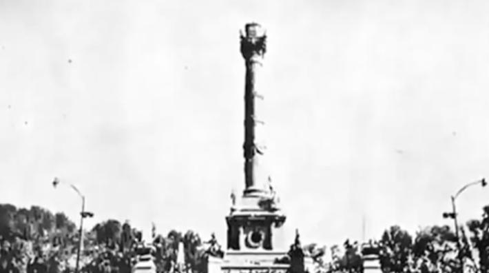 Sismo, Terremoto, Temblor, 1957, Ciudad de México, Columna de la Independencia