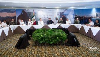 Osorio Chong, Gabinete De Seguridad, Segob, Baja California, Seguridad Mexicali, Noticias