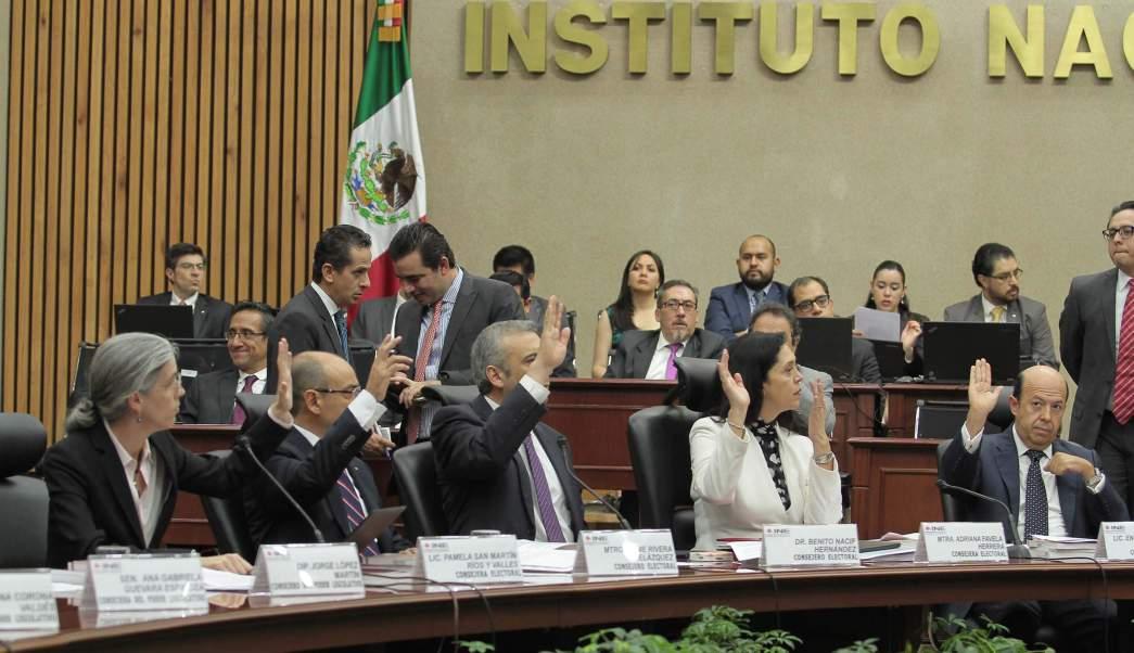 Sesion Del Ine, Ine, Elecciones, Cargos De Eleccion Popular, Politica, Desicion