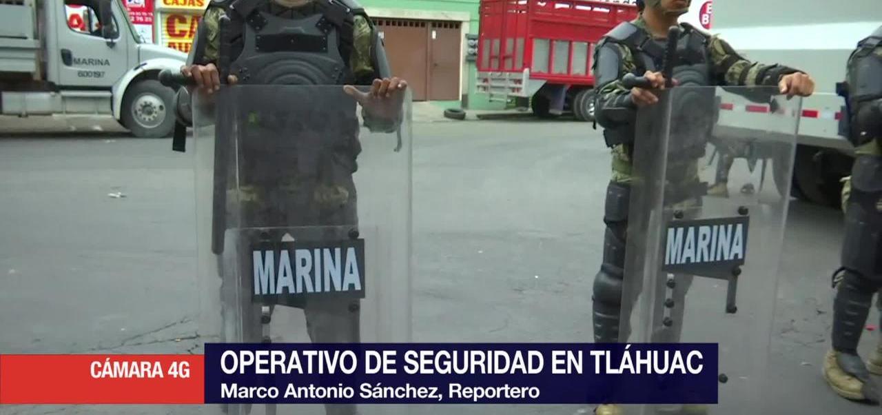 Continua Operativo, Tlahuac, Autoridades Federales, Ciudad De Mexico