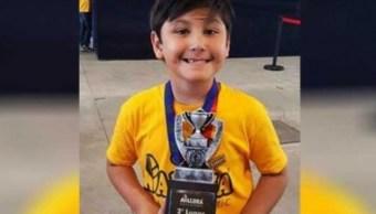 niño genio, seis años, 70 problemas, 4 minutos, México, genio,