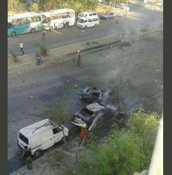 Atentado suicida con tres coche bombas en Damasco