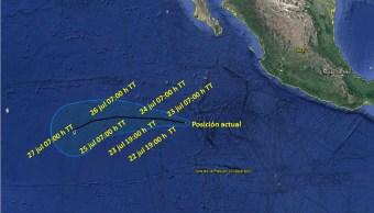 Depresión tropical 10E cerca de Cabo San Lucas