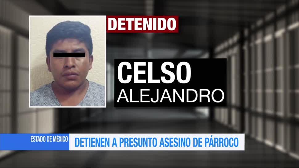 Detienen, presunto, homicida, párroco, La Paz, Estado de México