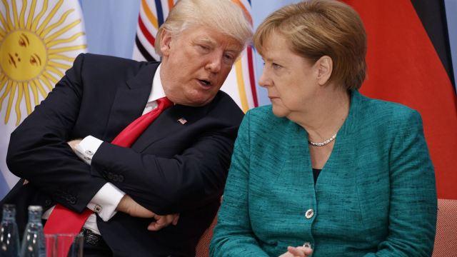 Donald Trump, EU, Angela Merkel, G20, Alemania, Hamburgo, política