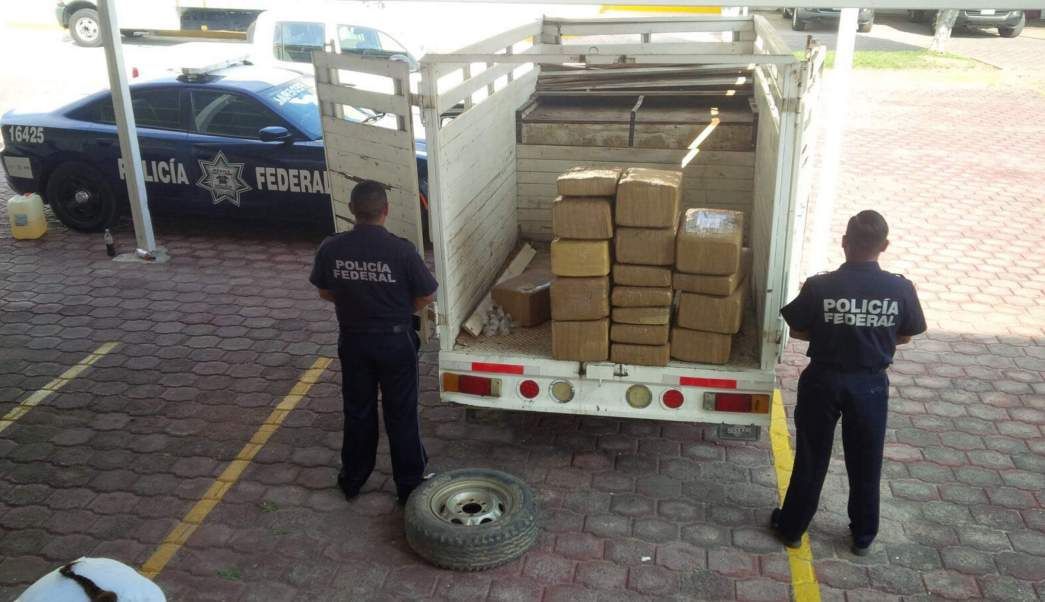 Droga Asegurada, Policía Federal, PF, Narcotrafico, Guerrero
