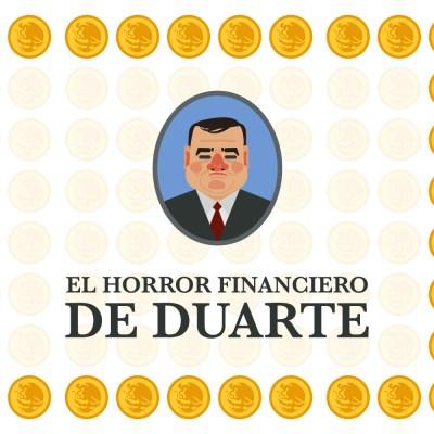 Esta gráfica demuestra el horror financiero de Duarte