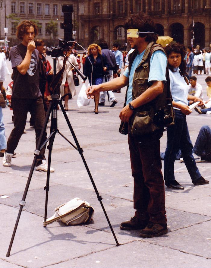 Eclipse Total de Sol, Eclipse 1991, Eclipse de Sol, Zócalo, Centro Histórico, lentes
