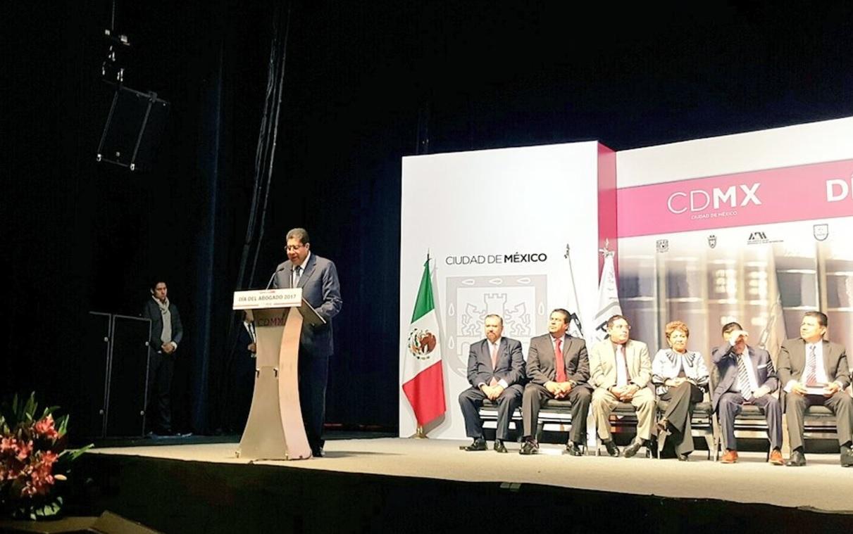 Edmundo Garrido es el nuevo procurador de la CDMX