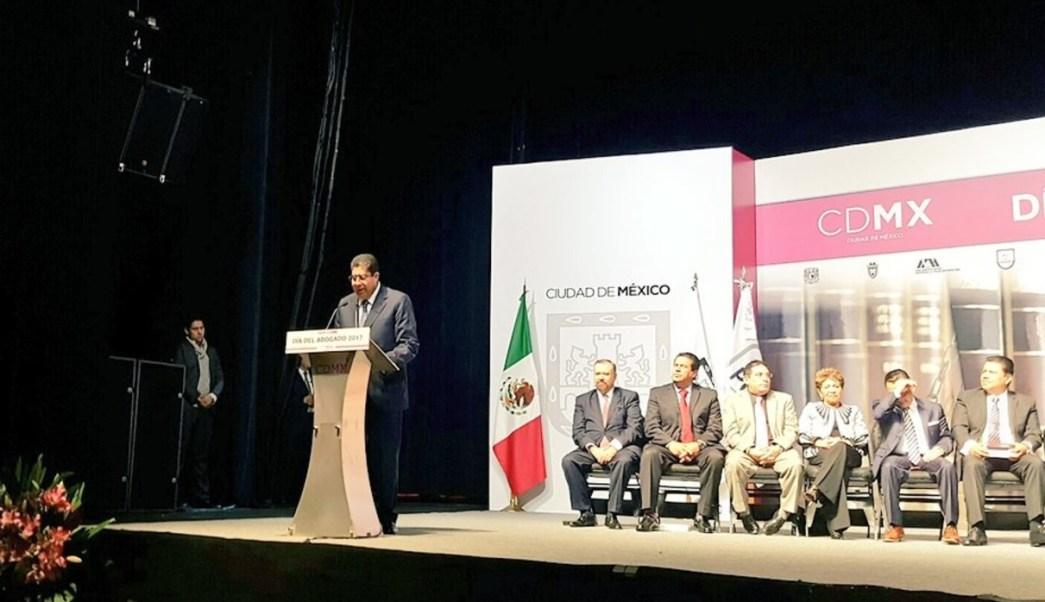 Edmundo Garrido, encargado del Despacho de la PGJCDMX. (Twitter Procuraduría CDMX)