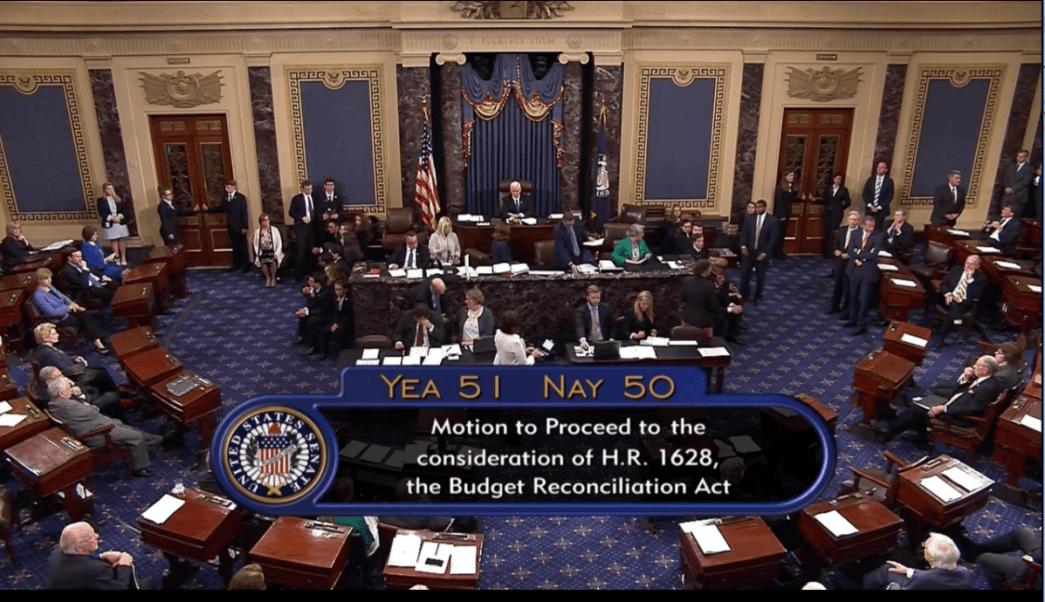 Senadores aprueban iniciar debate sobre Obamacare