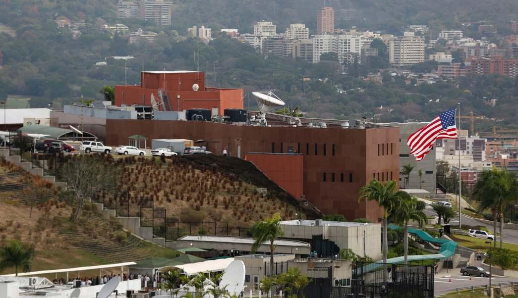 Regresan diplomáticos estadounidenses embajada Caracas Venezuela