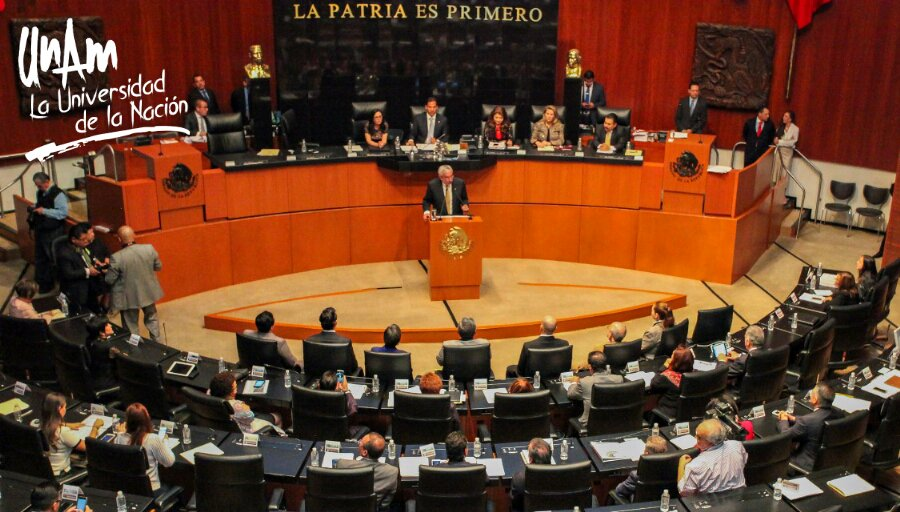 Enrique Graue, rector de la UNAM, en el Senado