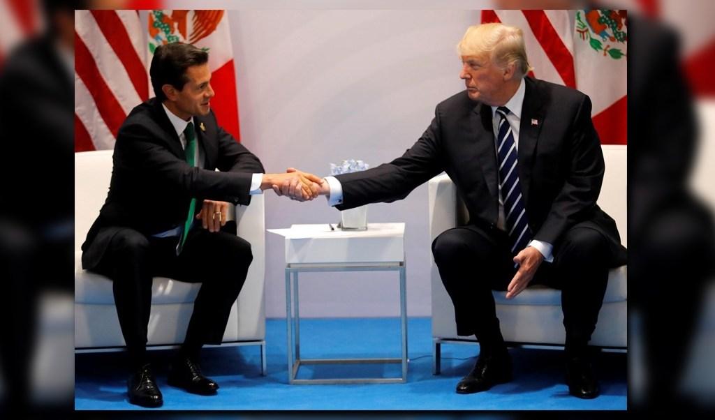 Enrique Peña Nieto y Donald Trump dialogaron sobre la renovación del TLCAN