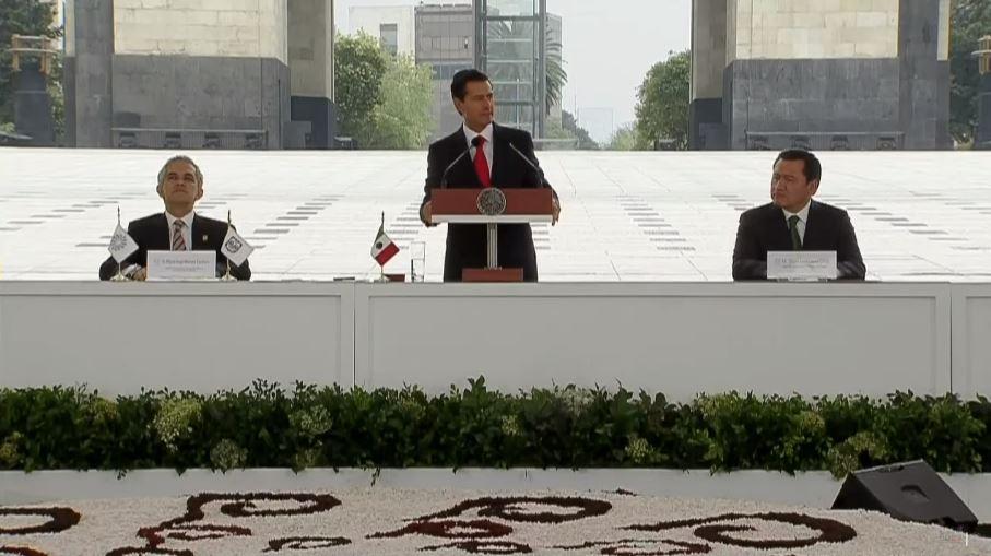 Peña Nieto encabeza ceremonia por 15 aniversario de la Conago