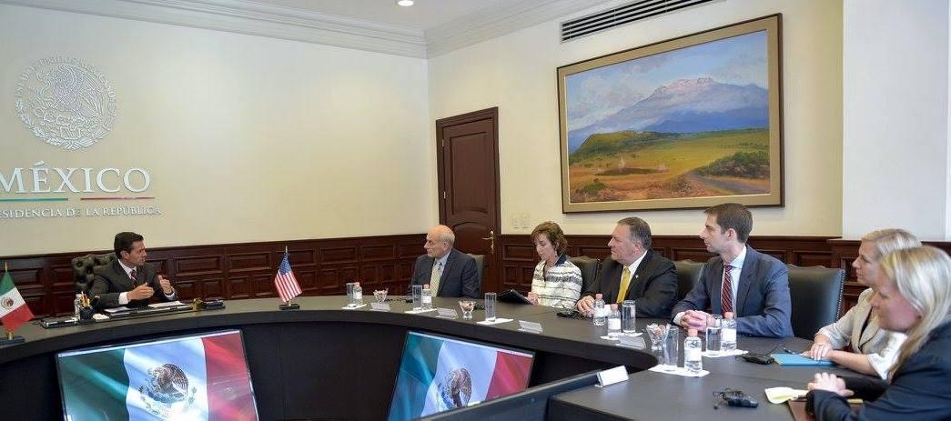 EPN , Kelly, acuerdo, crimen organizado, Los Pinos, México, EU