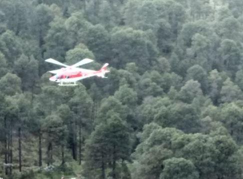 Rescatan Helicopteros Estado De Mexico Relampagos Extraviados