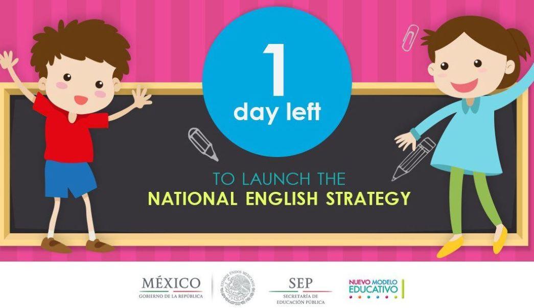 Estrategia Nacional De Ingles, Educacion Publica, Educacion Basica, Maestros De Ingles, Primarias, Secundarias