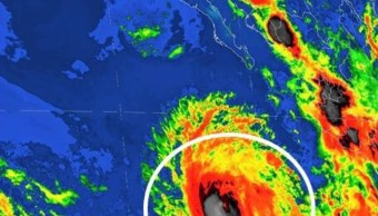 El huracán 'Eugene' alcanzó la categoría 2 (Notimex)