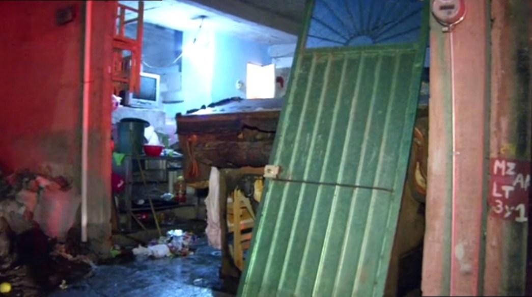 Explosion de gas afecta una casa en iztapalapa
