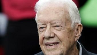 Expresidente, Estados Unidos, Jimmy Carter, hospitalizado, canadá