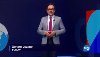 Noticieros Televisa, FOROTv, Televisa News, Foro Global, Genaro Lozano, Internacionales