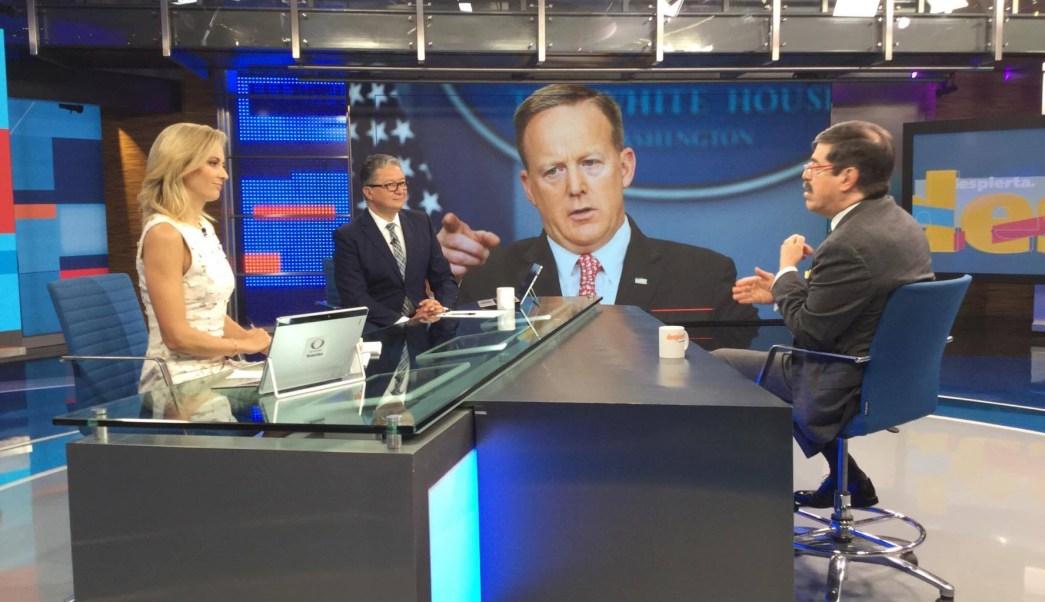 Gabriel Guerra habla de Trump y Spicer en Despierta