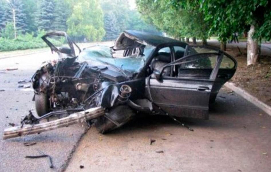 Sofia Magerko y Daria Medvedeva murieron después de estrellar el auto en el que viajaban contra poste en Ucrania (Foto: The Sun)
