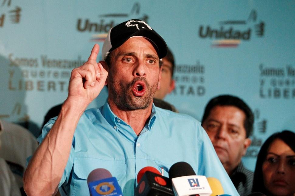 Henrique Capriles rechaza la Constituyente de Maduro