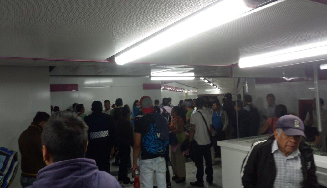 Hombre muere en vías del Metro Balbuena