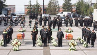 Estado de mexico, Naucalpan, Comision estatal de seguridad, Policias, homenaje, Combate a robo de vehiculo, Ces