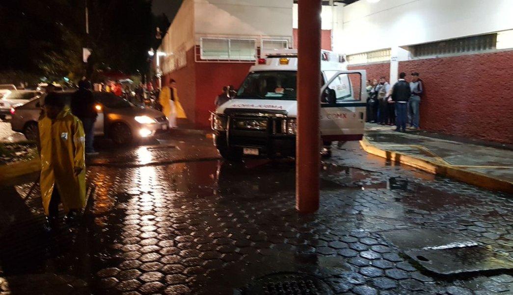 Hospital General, La Villa, Lluvia, CDMX, clima, GAM, tormenta