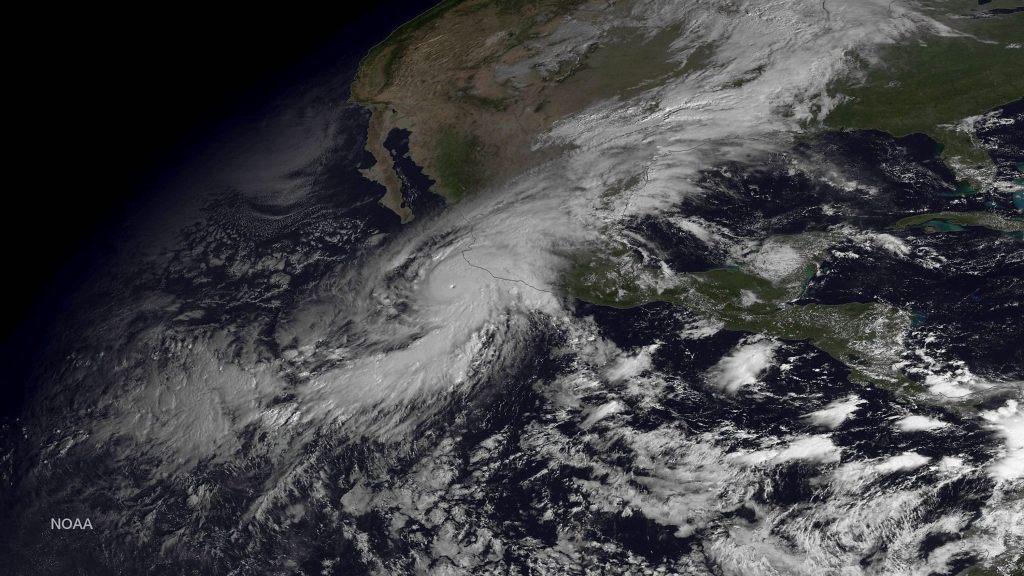 Huracán Patricia, México