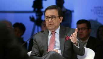 Ildefonso Guajardo, secretario de Economía, habla de la renegociación del TLCAN