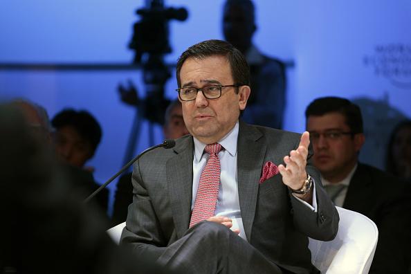 Ildefonso Guajardo, secretario de Economía, encabeza renegociación del TLCAN