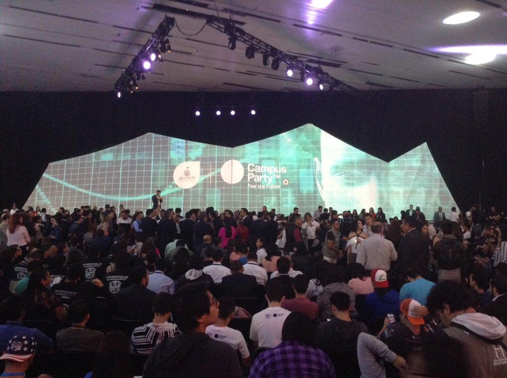 Inauguración del Campus Party