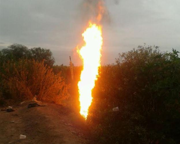Incendio, Toma, Clandestina, Hidalgo, Salamanca, Guanajuato