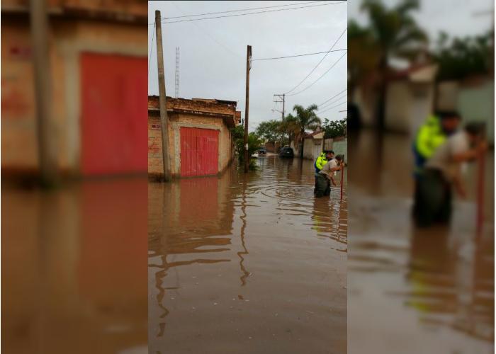 intensa lluvia afecta a varios municipios en jalisco