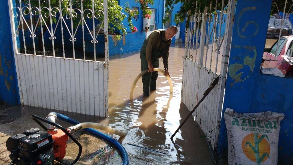Lluvia provoca afectaciones en al menos 62 viviendas de Tepatitlán