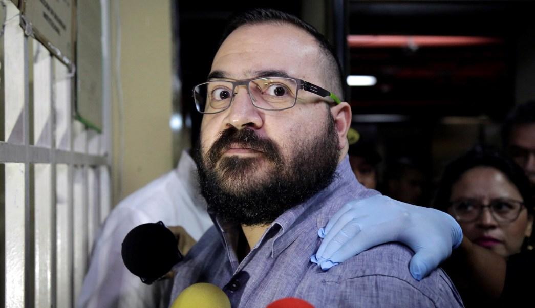 Javier Duarte comparece en tribunal de Guatemala