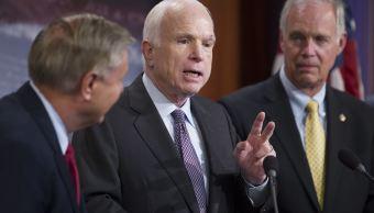 Senado EU golpe Trump derogacion Obamacare