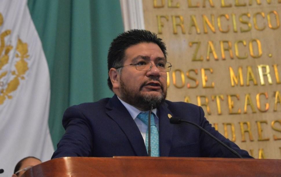 Juan Gabriel Corchado, diputado de Panal de la ALDF. (Twitter Gabriel Corchado)