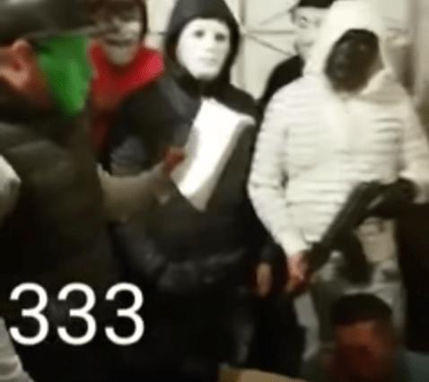 Justicieros anónimos, CDMX, Barrio Santa Julia, justicia, ladrón, armas