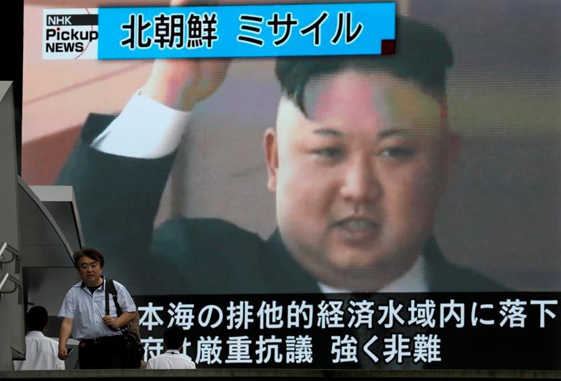 cHINA, Corea del Norte, misil, intercontinental, balístico, Kim Jong, seguridad, televisión