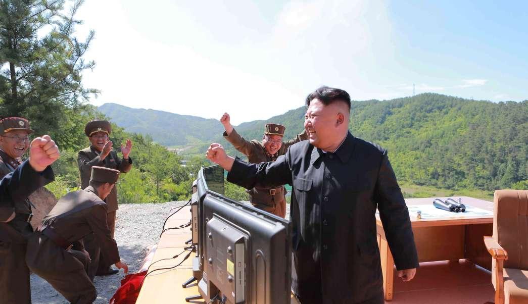 Norcorea, Kim, misil, independencia, KCNA, Estados Unidos, bastardos,