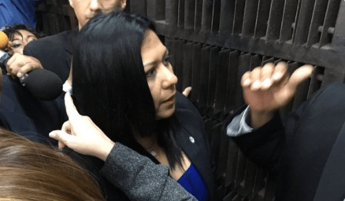 La vicefiscal Katherine Harrington no logró entrar a la Fiscalia