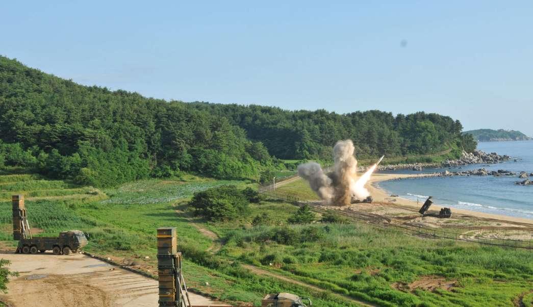Estados Unidos, Corea del Sur, misiles, lanzamiento, Norcorea, ejercicios militares,