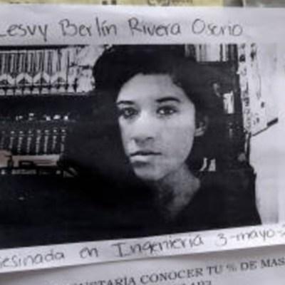 Procuraduría CDMX ofrece disculpa pública por feminicidio de Lesvy Rivera